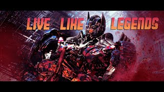 Optimus Prime - Live Like Legends