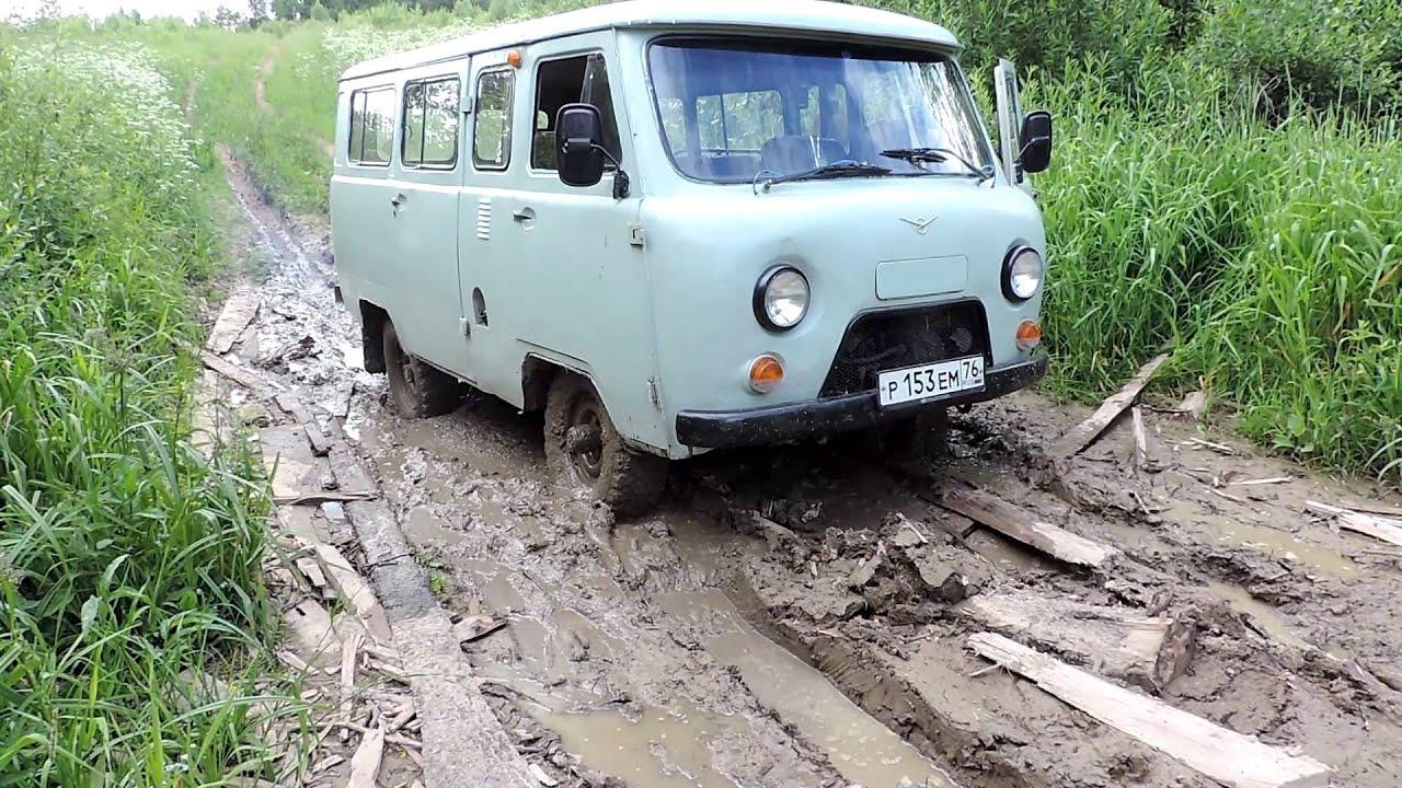 """УАЗ 2206 """"Буханка"""" Немного грязи"""