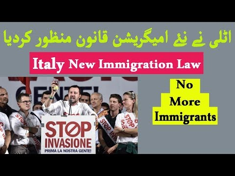 ITALY'S NEW IMMIGRATION AND ASYLUM LAW - URDU/HINDI