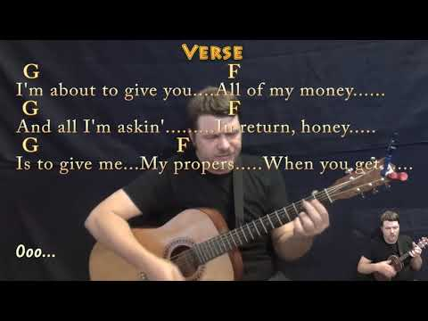 Respect (Aretha Franklin) Guitar Cover Lesson In C With Chords/Lyrics -  Uke Duet