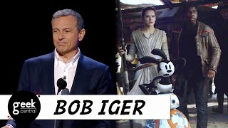 Disney CEO Bob Iger reflects on how he honored Walt Disney with Oswald