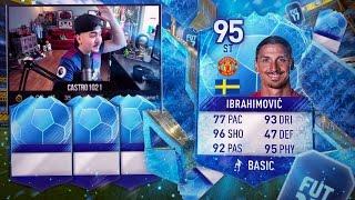 95 IBRA IN A PACK! 5 BLUE TOTT WALKOUTS! FIFA 17