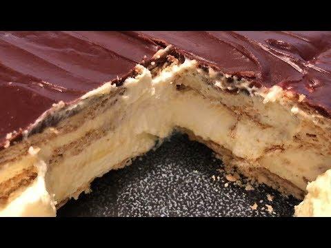 No Bake Chocolate Eclair Cake Recipe | Southern Sassy Mama