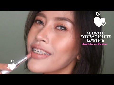 wardah-intense-matte-lipstick-swatches