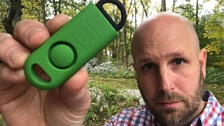 Tripwire & Personal Alarm: The eAlarm + from BASU - $16 And Worth The Investment