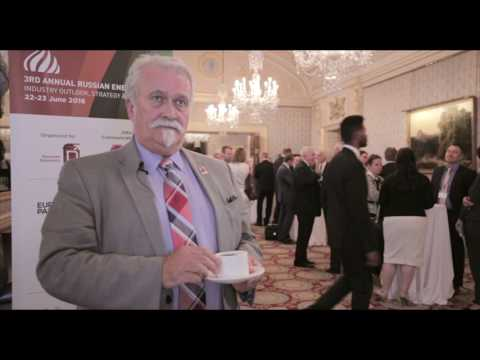 Paul Sullivan, WorleyParsons at the Russian Energy Forum 2016 in London