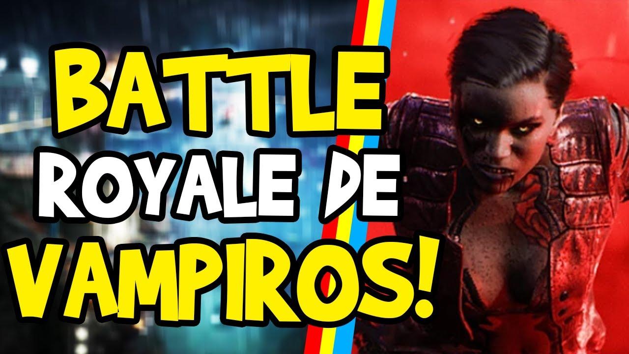 BLOODHUNT - MAIS UM BATTLE ROYALE... MAS AGORA DE VAMPIROS! - SHARKMOB