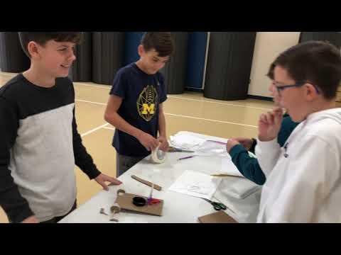 Waldon Middle School lunar buggies