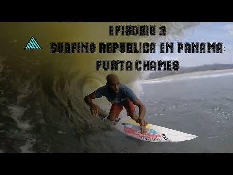 Episodio 2 de Surfing Republica en Panama: Punta Chame y un gran día de tubazos.