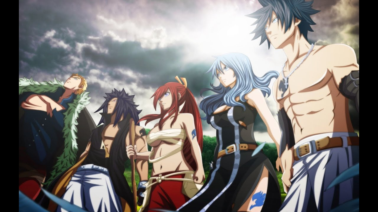 Group Of Fairy Tail Images My