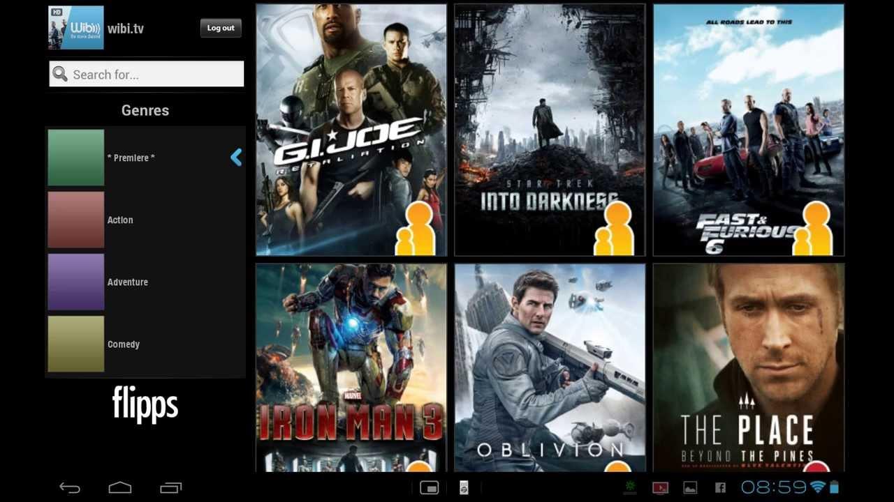 Flipps HD (Former iMediaShare) APK 5.22 - YouTube