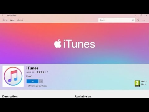Hands On With ITunes Microsoft Windows 10 Store App