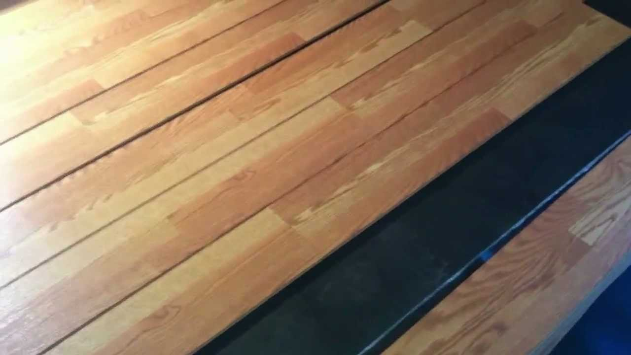 A different way of installing laminate flooring youtube for Laminate flooring atlanta