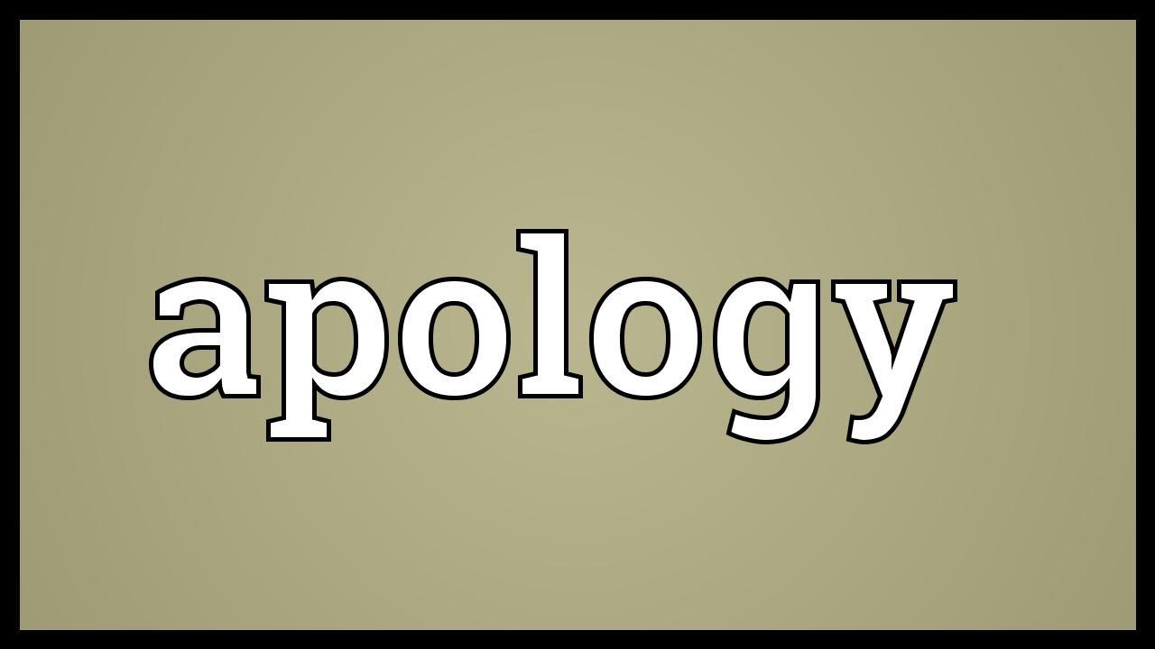 apologize in hindi