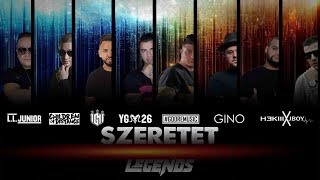 L.L.JUNIOR-HORUS-IGNI-YOUNG G-GOORE-GINO-HEKIII-JBOY (Legends) - SZERETET ( Official Music Video )