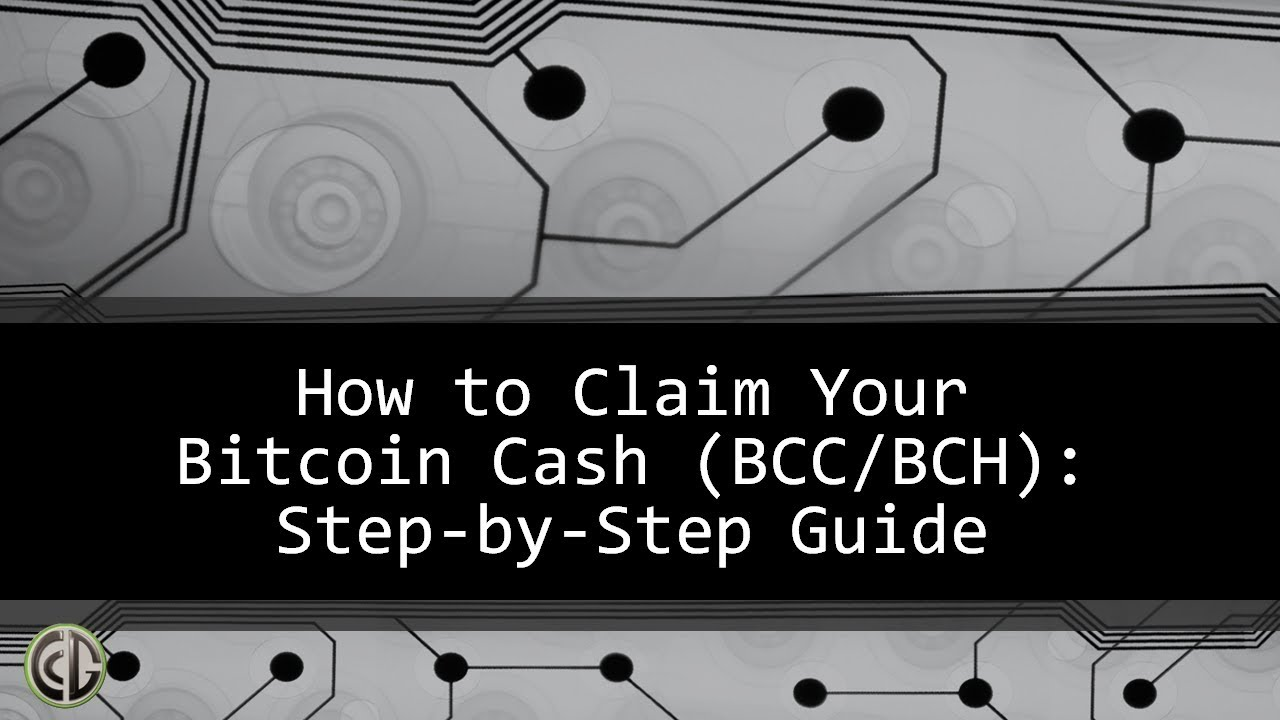 Bitcoin cash step by step guide to claim your free bcc bch youtube bitcoin cash step by step guide to claim your free bcc bch ccuart Image collections