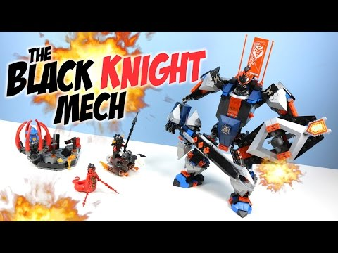 LEGO Nexo Knights The Black Knight Mech Set 70326 Review Adventure