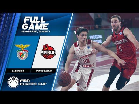 SL Benfica V Spirou Basket - Full Game - FIBA Europe Cup 2019-20