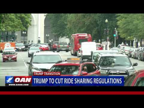 Trump to cut ride-sharing regulations