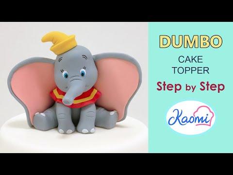 Cómo hacer a DUMBO para tortas || Kaomi Tutoriales