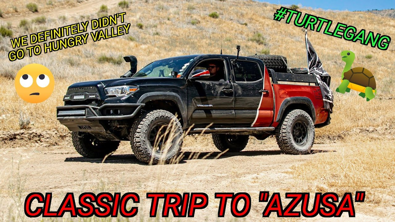 Our best trip to Azusa Canyon OHV so far!