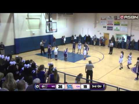 Kelly Post Basketball Full Game Video VCA vs CCA 20 Feb 15