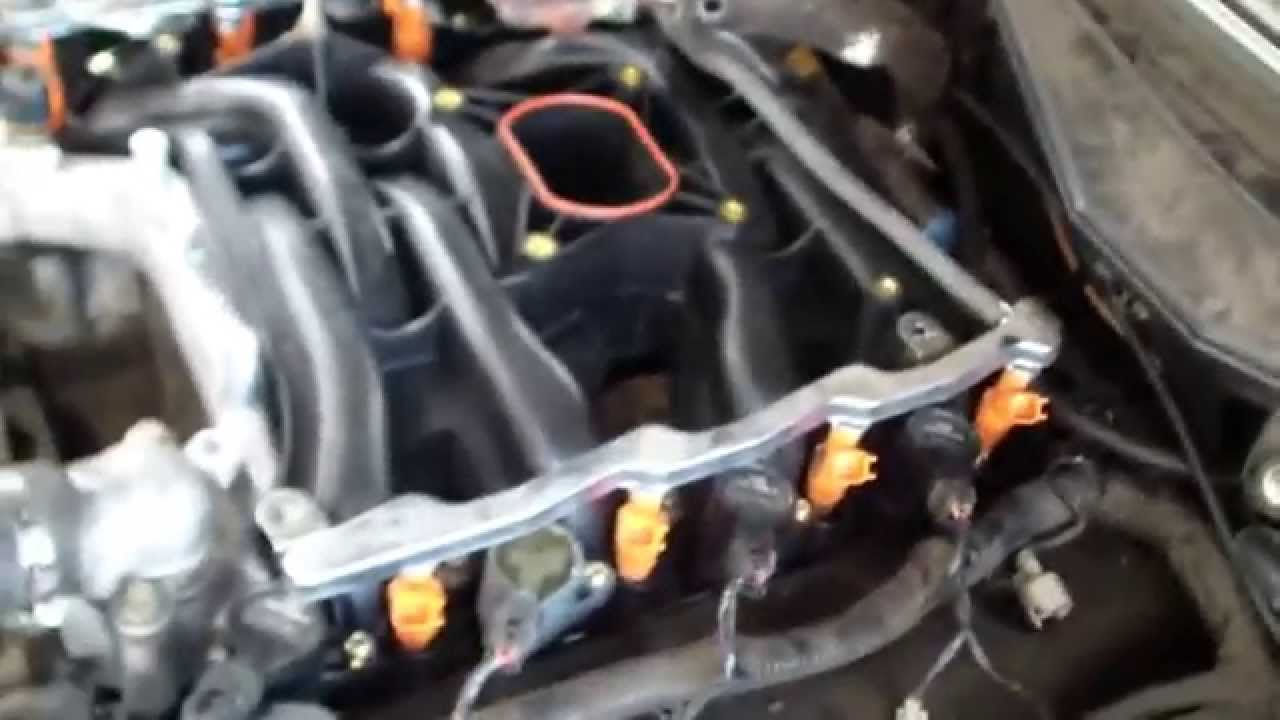 92 Mustang Vacuum Diagram Ford 4 6l V8 Intake Manifold Replacement Youtube