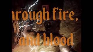 LONEWOLF - Through Fire, Ice And Blood (Lyric Video)