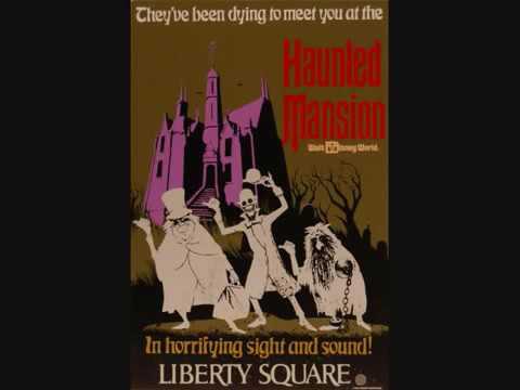 WDW Magic Kingdom: Haunted mansion ride audio