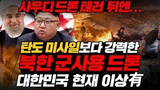 사우디 드론 테러 뒤엔... 탄도 미사일보다 강력한 북한 군사용 드론 대한민국 현재 이상有 l North Korea drones [ENG SUB]
