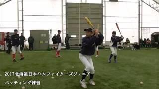 2017北海道日本ハムファイターズジュニアは6年振り2度目の優勝を目指す...