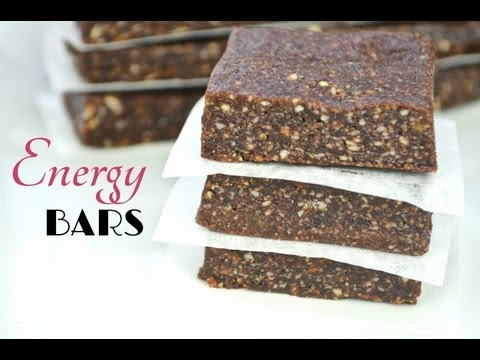 Easy Homemade 3-Ingredient Energy Bars | Fablunch