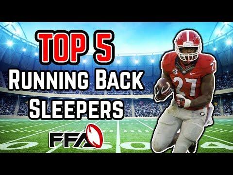 2018 Fantasy Football - Top 5 RB Sleepers