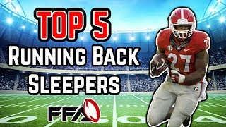 2018 Fantasy Football - Top 5 RB Sleepers