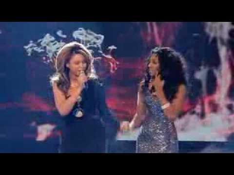 X Factor Final - Alexandra Burke and Beyonce - Listen (WINNER)
