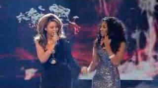 X Factor Final - Alexandra Burke and Beyonce - Listen (WINNER)
