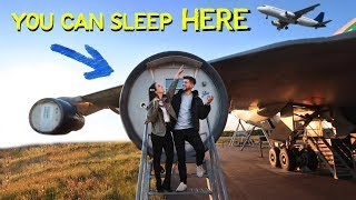 We Slept in a AIRPLANE HOTEL?! - 7 Days in Stockholm Sweden