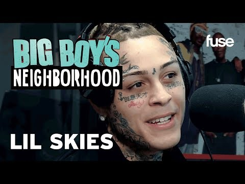 Lil Skies Reveals His Next Tattoo, Is He Done with Face Tats? | Fuse X Big Boy