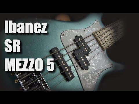 Ibanez SR Mezzo 5 String - SRMD205   Short Demo