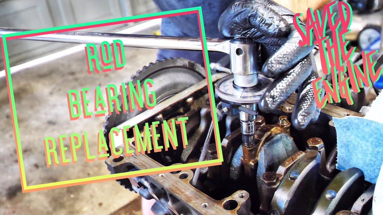 THIS COULD HAVE BEEN BAD! BMW Rod Bearing Replacement How To (S52 S50 M52  M50) BERTY 30 TRACK BUILD