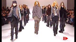 RICK OWENS Full Show Autumn Winter 2008 2009 Paris   Fashion Channel