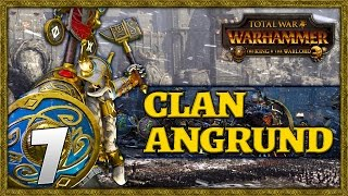 CLASH OF CLANS! Total War: Warhammer - Clan Angrund Campaign #7
