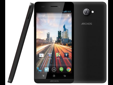 Archos 50 Helium Hard Reset and Forgot Password Recovery, Factory Reset