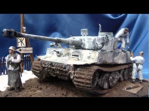 """""""Ammunition for the beast"""" Tiger I diorama in 1/35 scale"""