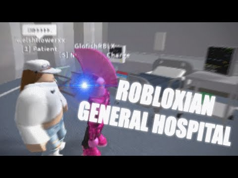 """WORKING"" AT ROBLOXIAN GENERAL HOSPITAL - ROBLOX TROLLING"