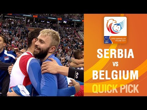 Uros Kovacevic seals #EuroVolleyM bronze for Serbia | LOTTO EUROVOLLEY POLAND 2017