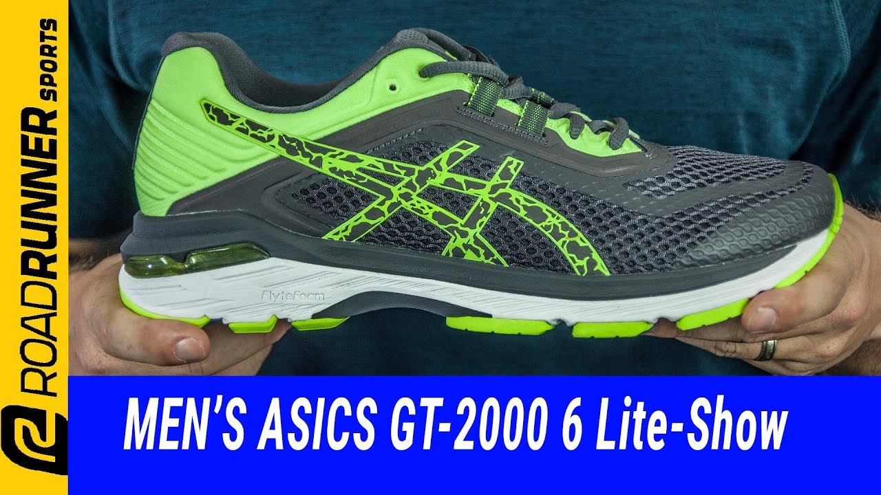 Men's ASICS GT-2000 6 Lite-Show | Fit Expert Review