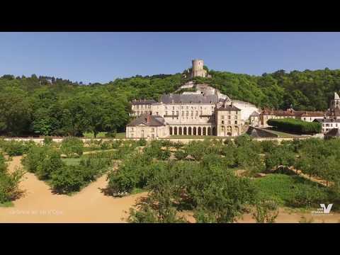 Vue drone sur la Seine dans le Val d'Oise par E. JF Riche