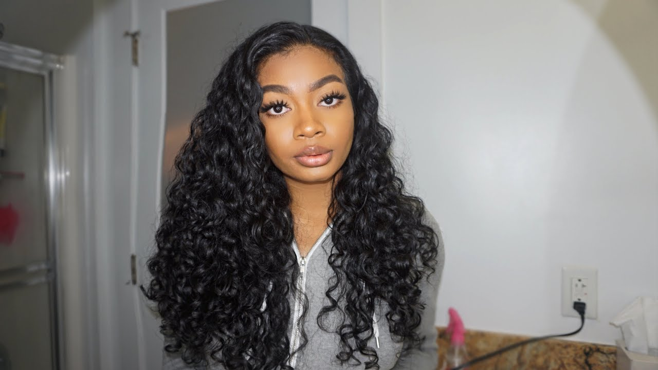 2019 Loc Method Curly Hair Routine 3a 3b