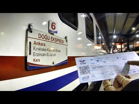 Doğu Ekspresi Maceramız // Across Turkey by train (Ankara to Kars)